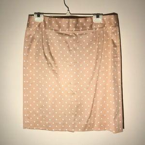 J Crew Tan Pencil Skirt, size 10